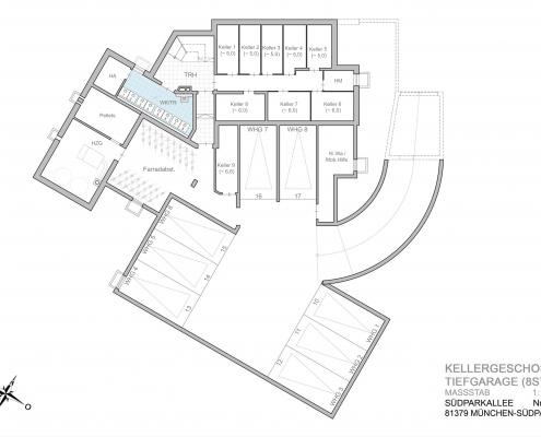 Südparkallee - Keller